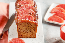 gingerbread with florida grapefruit